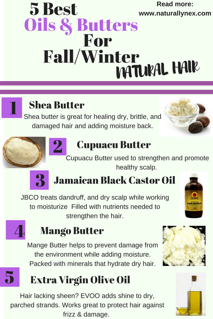 The best Butters \u0026 Oils for Fall\/Winter Haircare