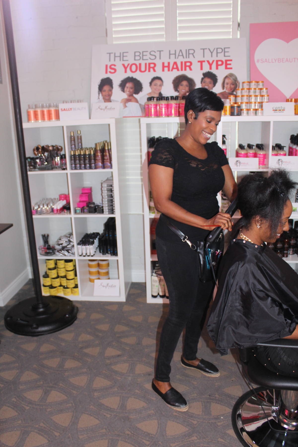 Meeting Sally's for Essence: VIP Lounge