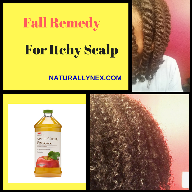 Fall remedy for itchy scalp